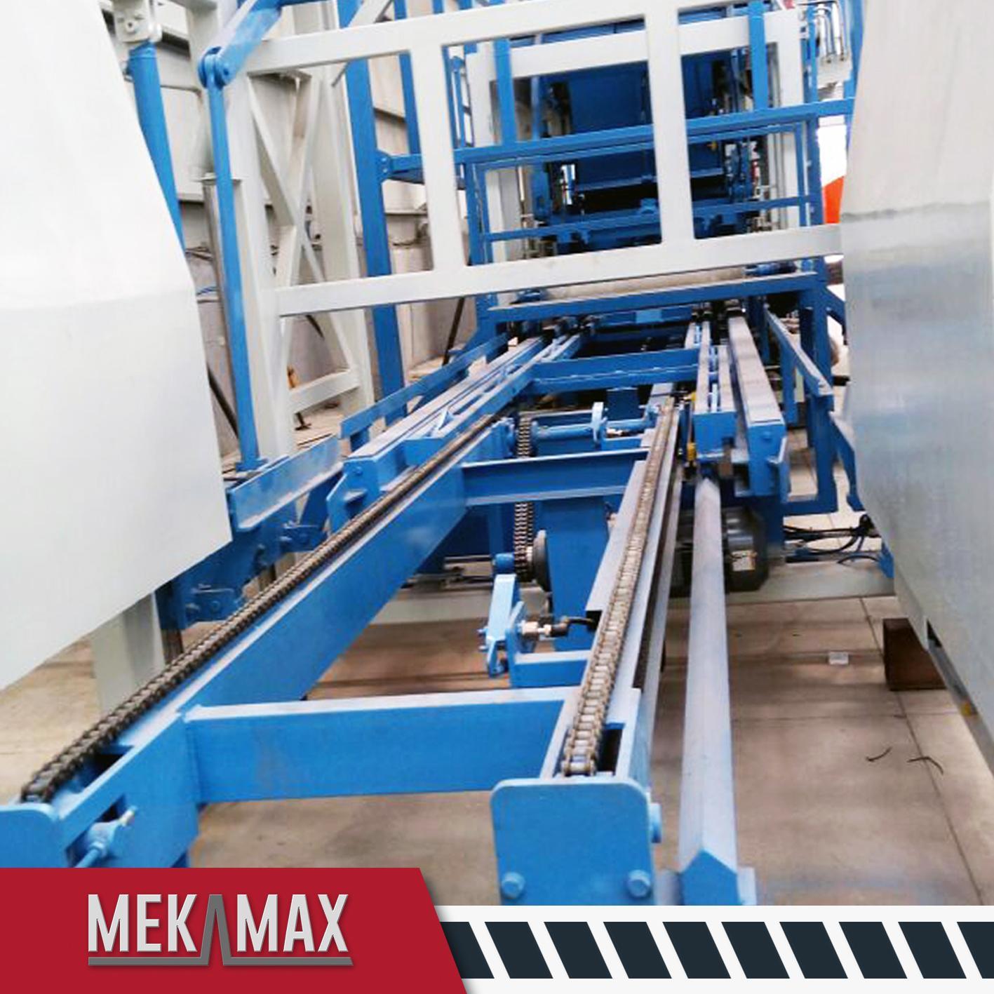 MEKAMAX OPTIMUS CONCRETE BLOCK MACHINES