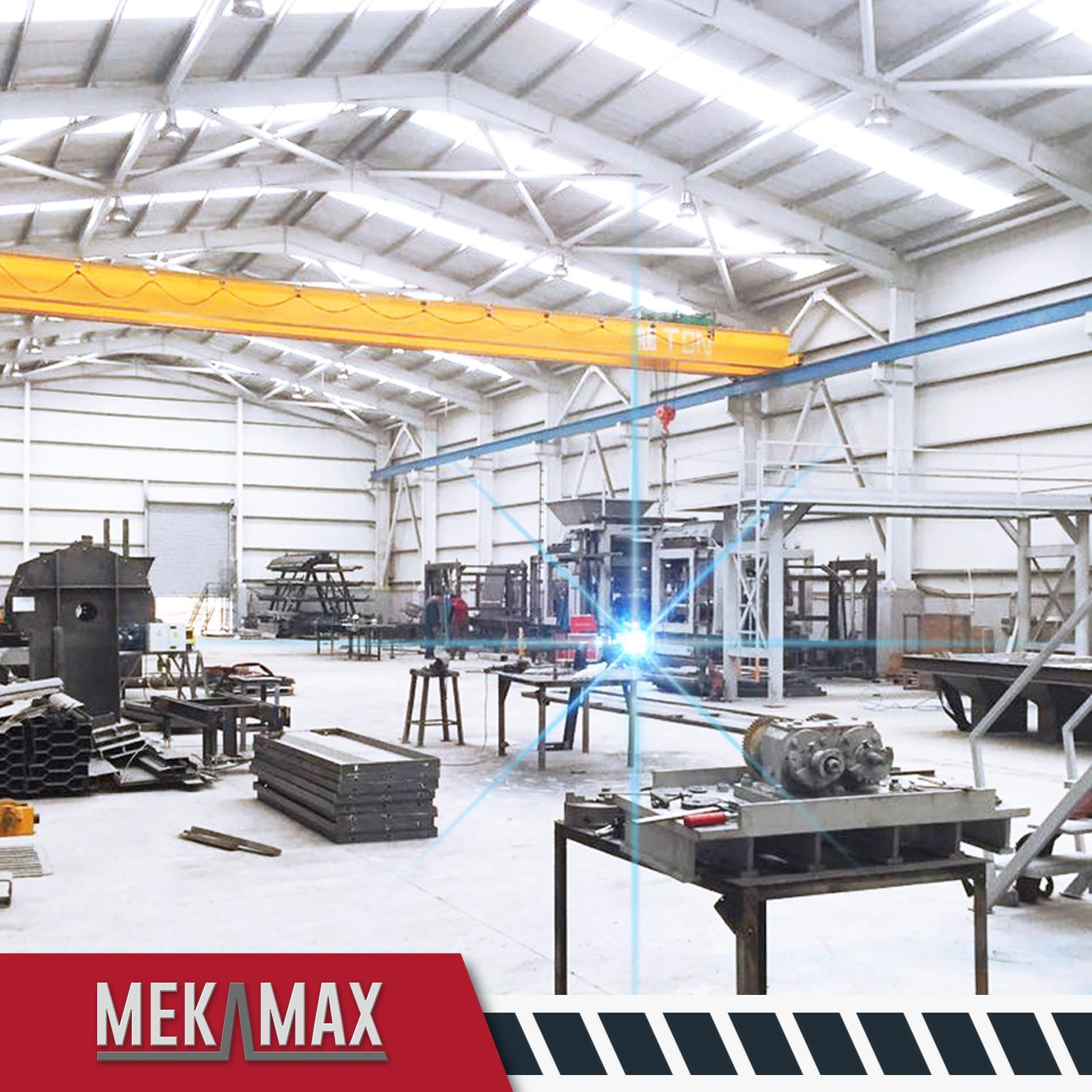 MEKAMAX OPTIMUS CONCRETE BLOCK MACHINES FACTORY